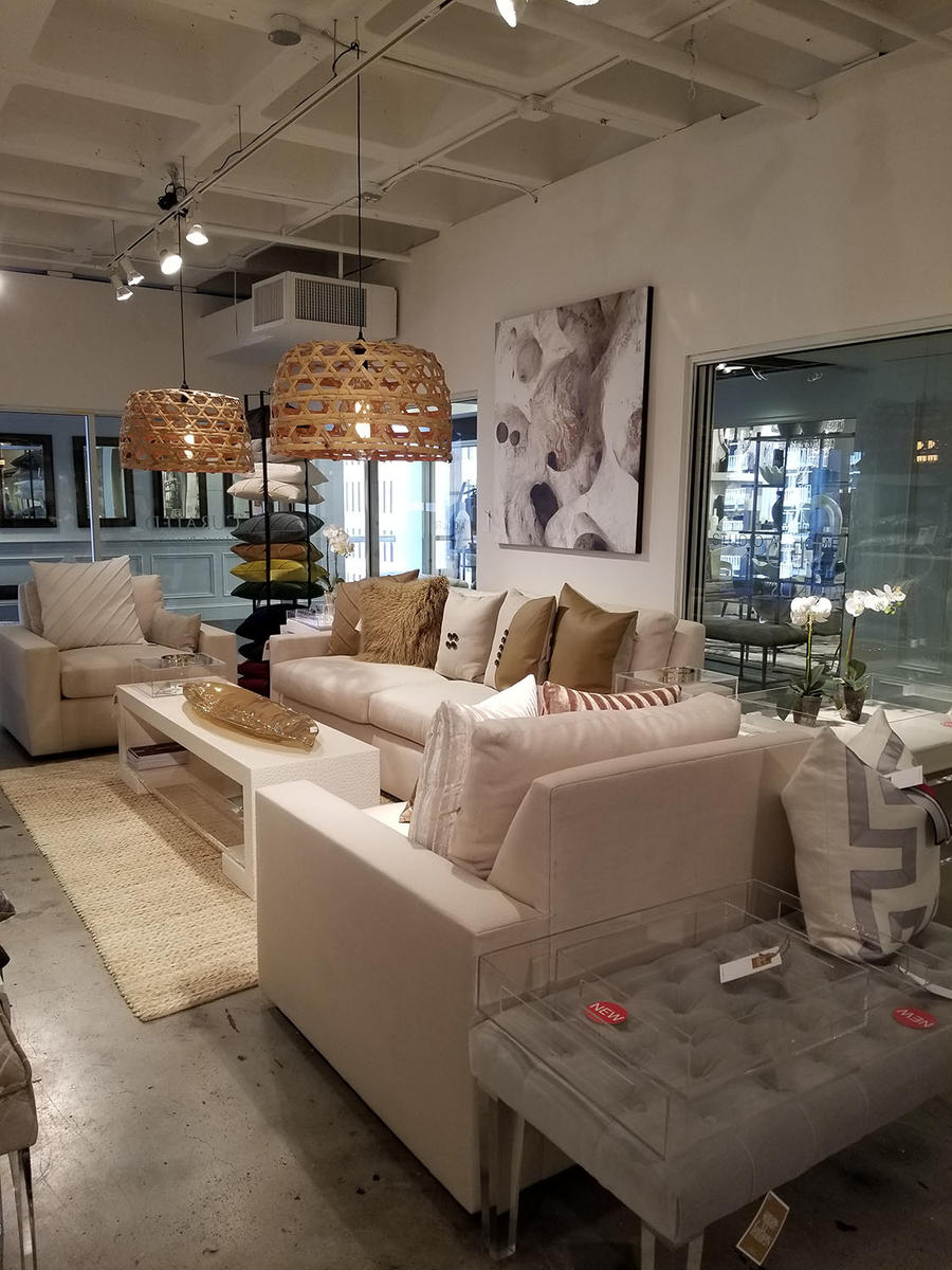 The Curated Home Brands showroom.