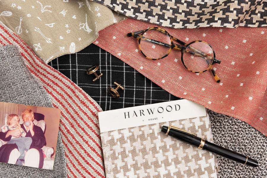 Harwood House, the first fabric line by Cortney Bishop Design
