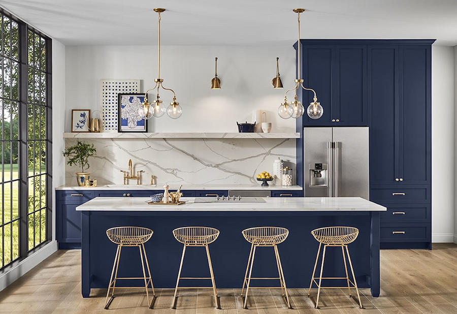 Sherwin-Williams has named Naval SW 6244 its color of the year.