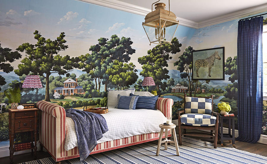 A kid's bedroom by Amy Berry in the Whole Home Concept House.