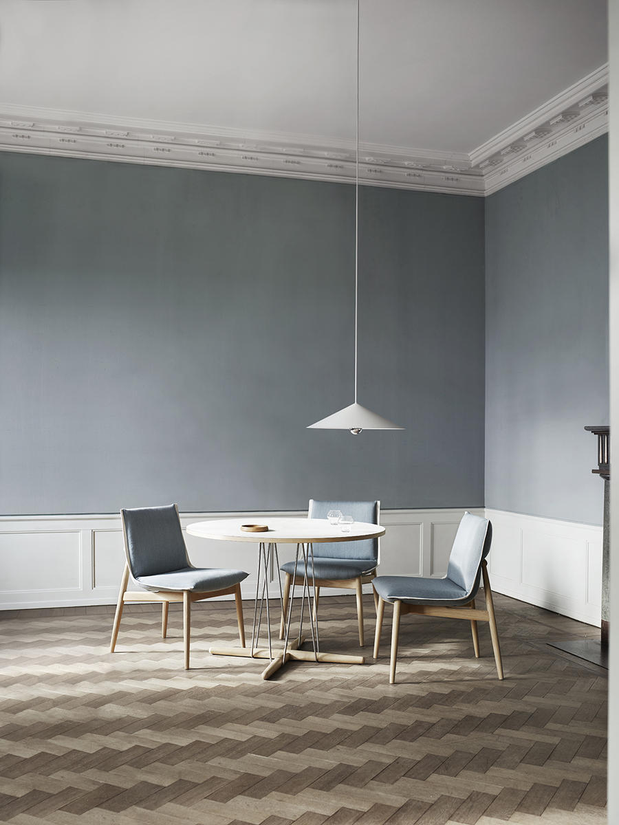 The Embrace Series features a new dining table and chairs.