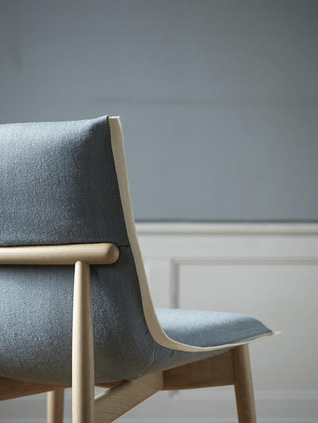 The Embrace dining chair.