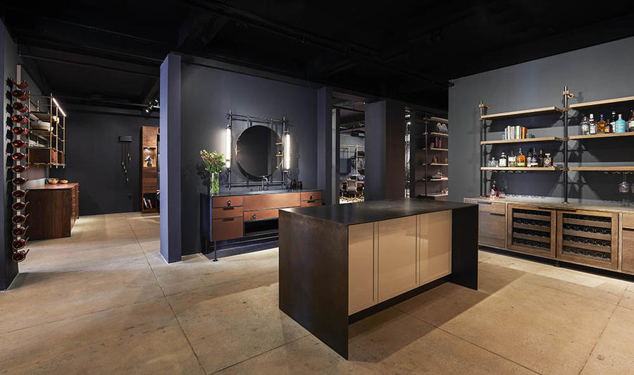 Amuneal opened a new 4,800-square-foot showroom in New York on the 13th floor of the New York Design Center