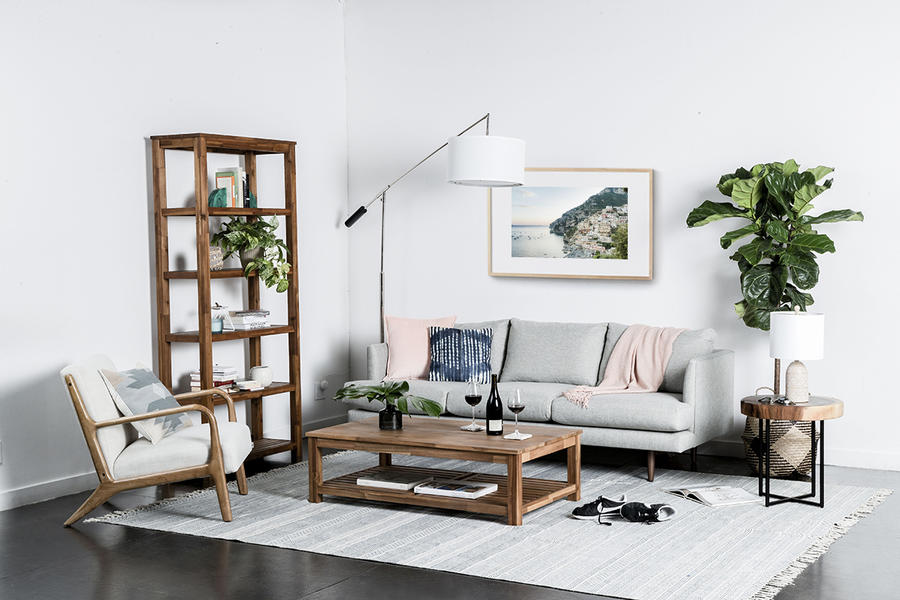 A living room set from Oliver Space