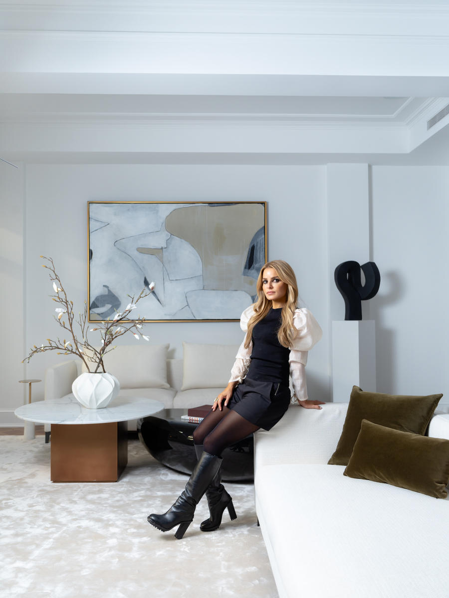 In the wake of a real estate slump, luxury staging gets creative