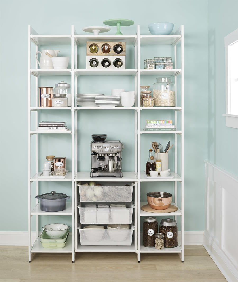 A pantry configuration from The Everyday System.