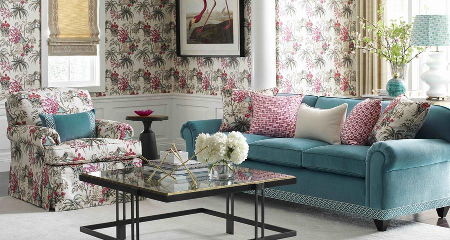 Six of the season's most fetching floral wallcoverings