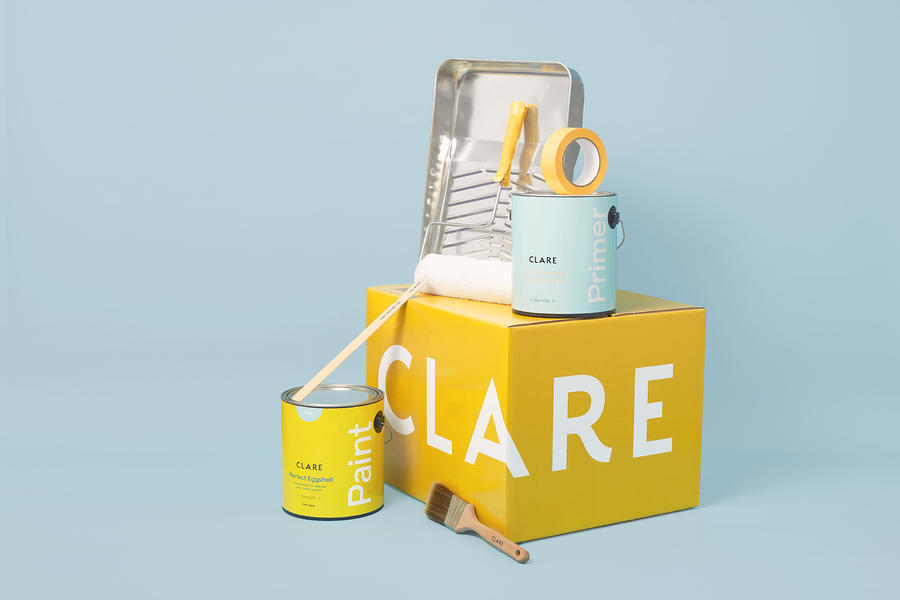 Clare reported an increase in the sale of paint supplies with paint orders.