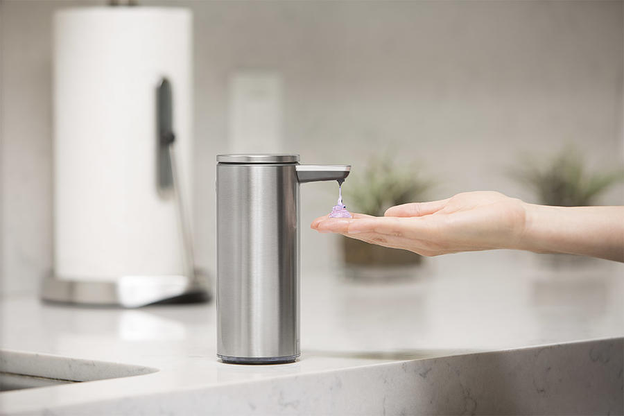 Simplehuman's sensor-activated soap pump