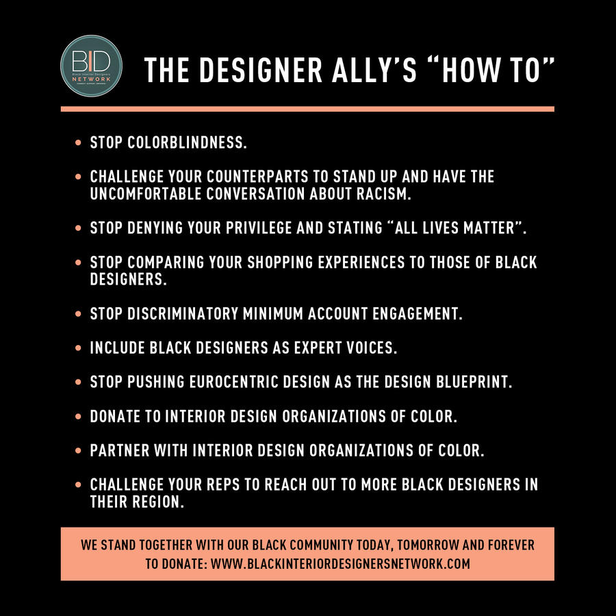 Want to be an ally to black designers? A new campaign shows the way