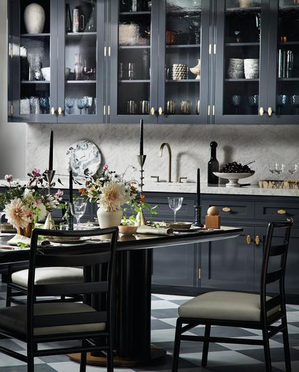St. Charles New York's new pre-war inspired kitchen