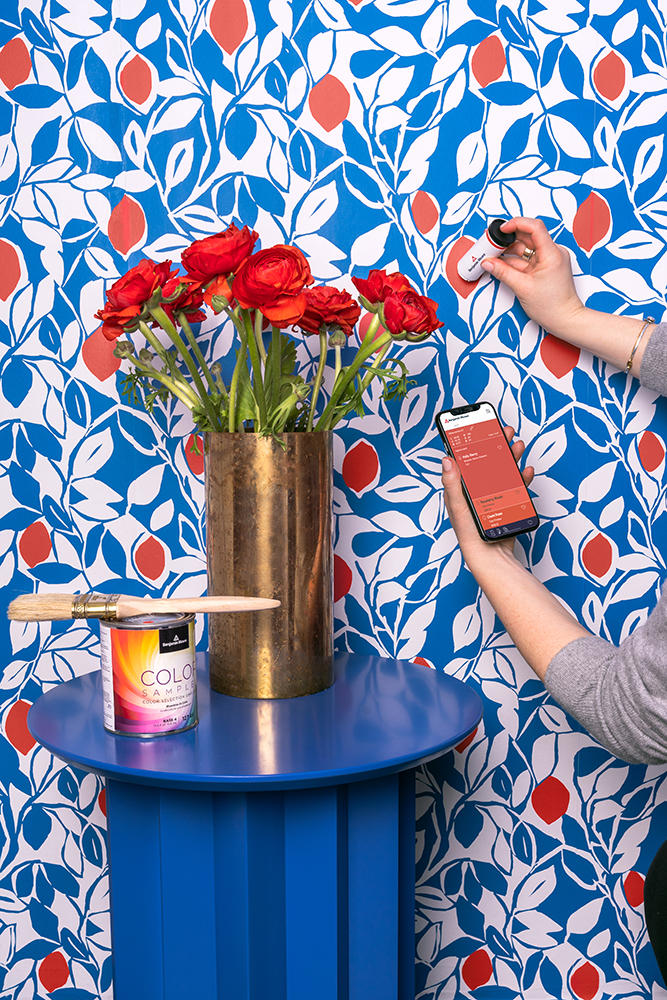 Benjamin Moore's ColorReader lets designers color match on the go
