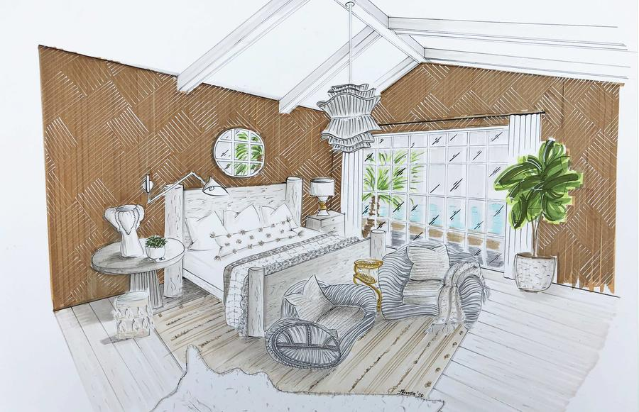 Jaimee Rose designs a breezy island escape