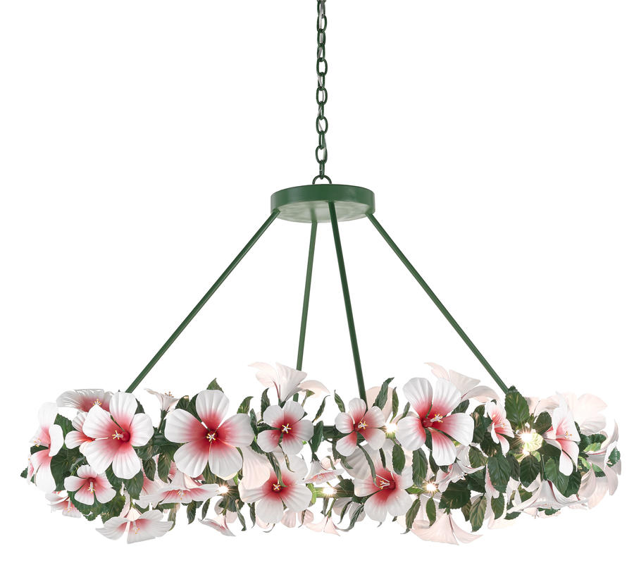 The Hibiscus Chandelier