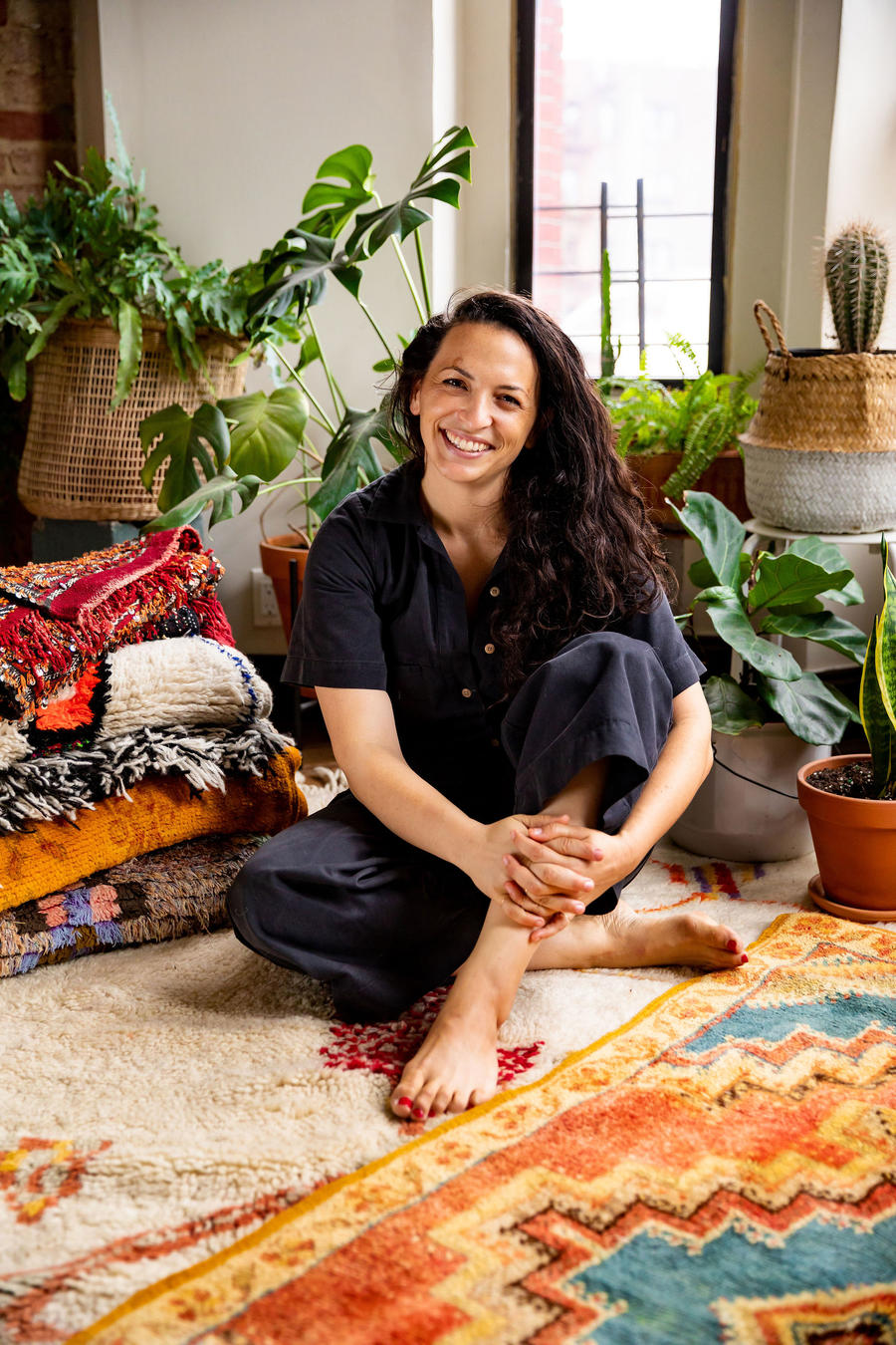 Handwoven Moroccan rugs, direct from the women who make them