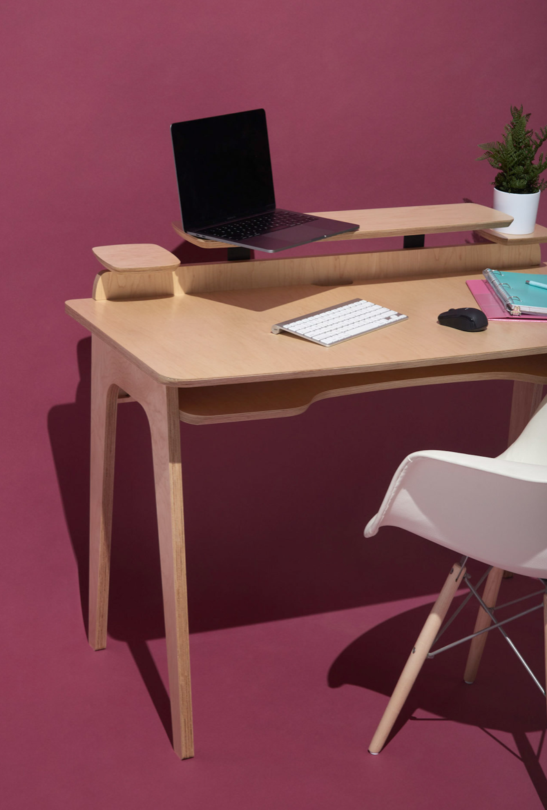 A desk from Inside Weather's Jorn Collection