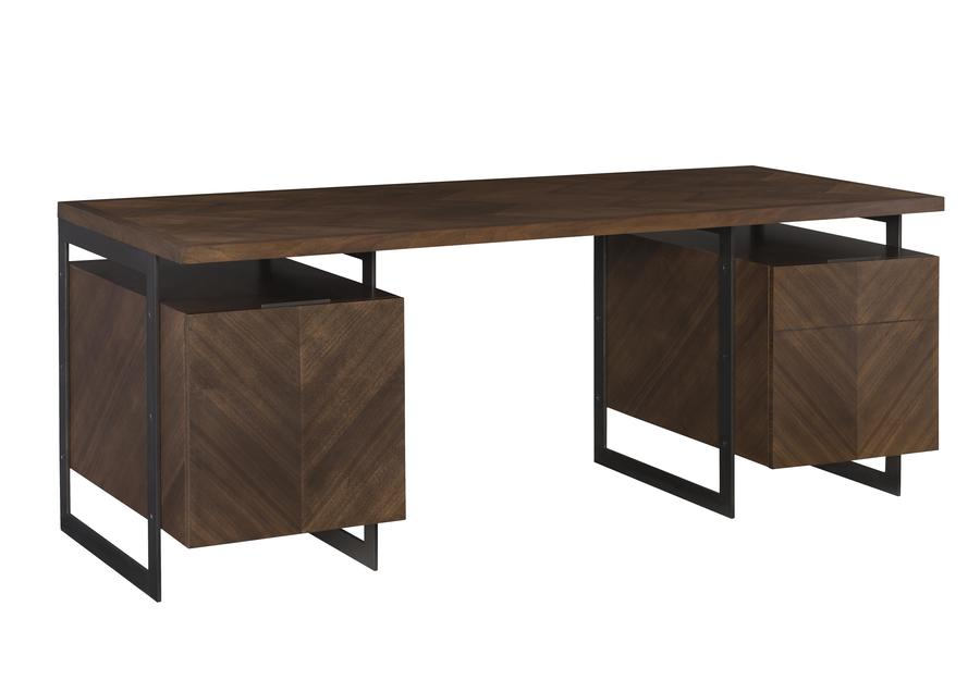 The Barstock desk from Ray Booth for Hickory Chair