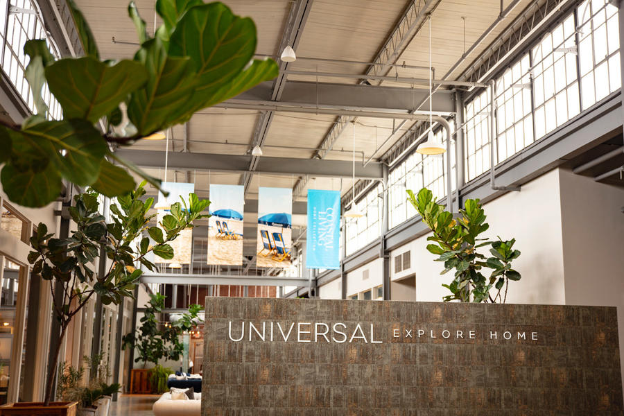 Universal's High Point showroom