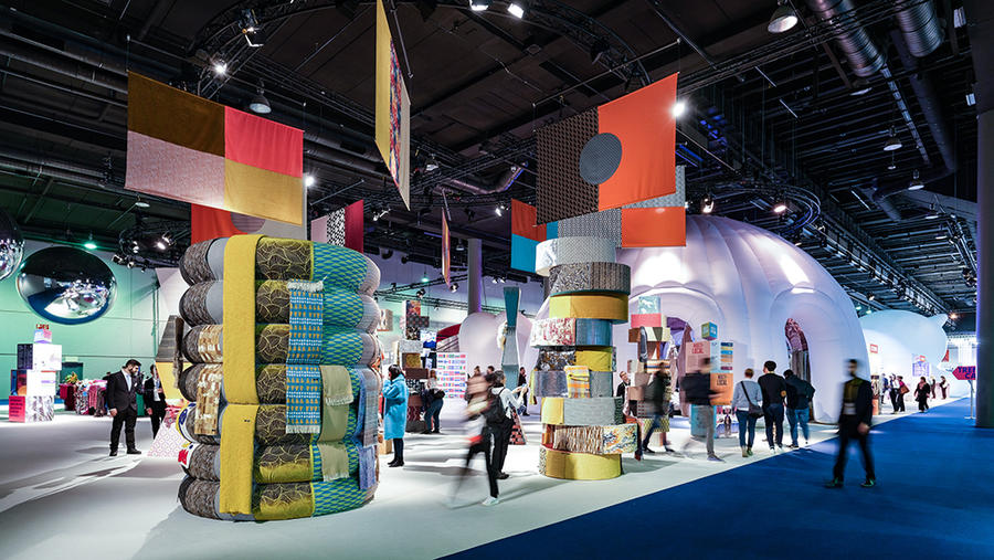 The Trend Space at Heimtextil in January 2020