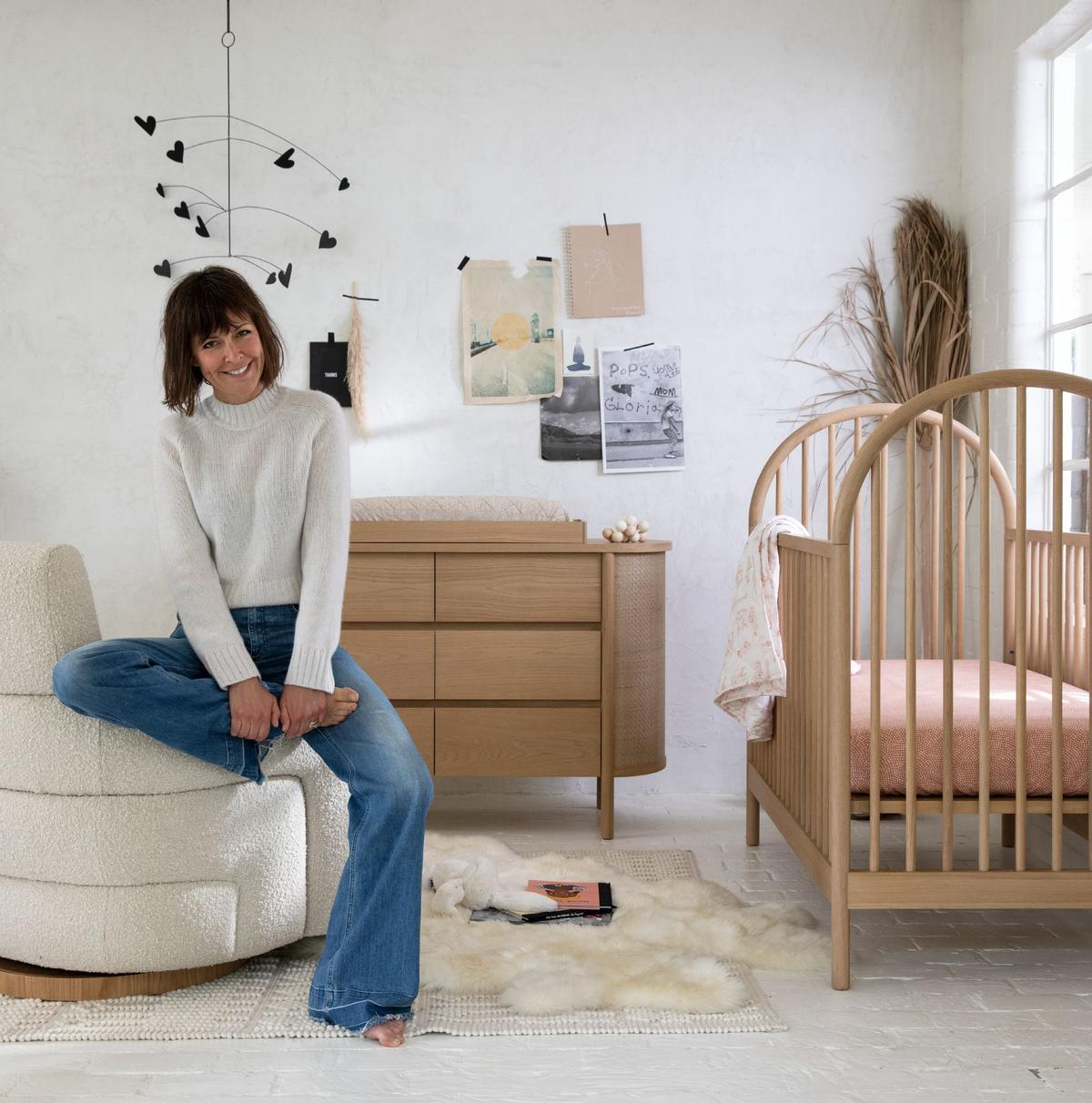 Interior designer Leanne Ford and her collection for Crate & Barrel