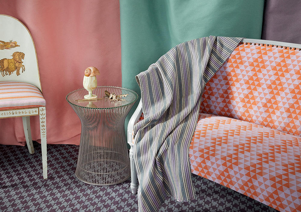 The debut collection from Milton Textiles