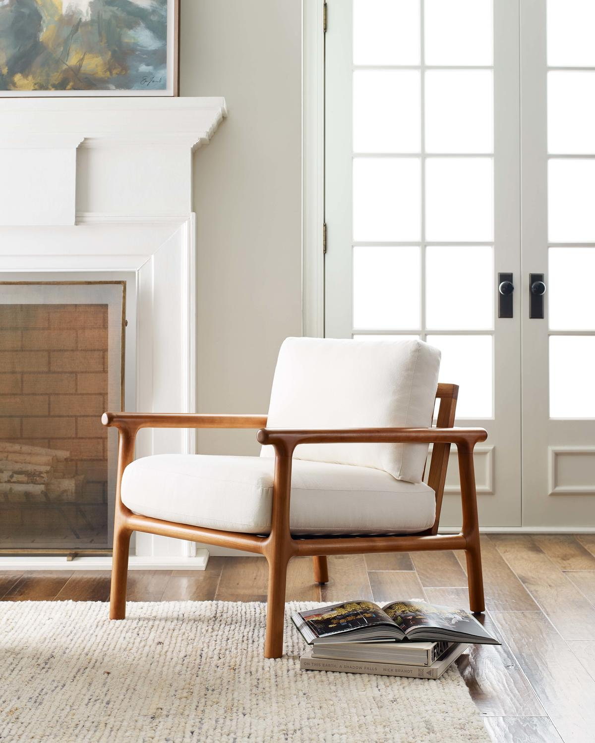 The Laguna chair from Mitchell Gold + Bob Williams