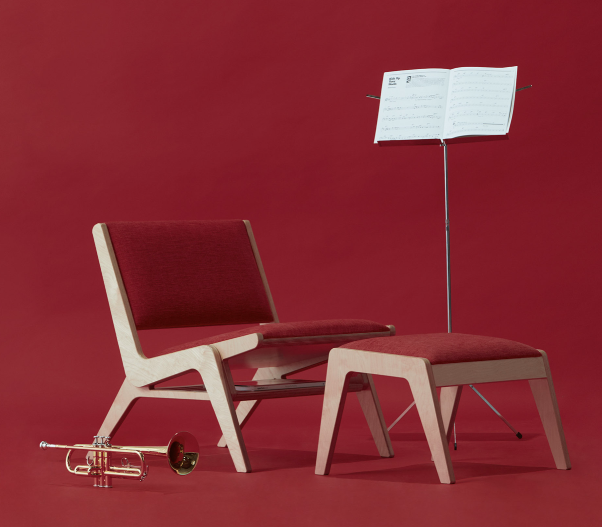 The Arcadia lounge chair from Inside Weather