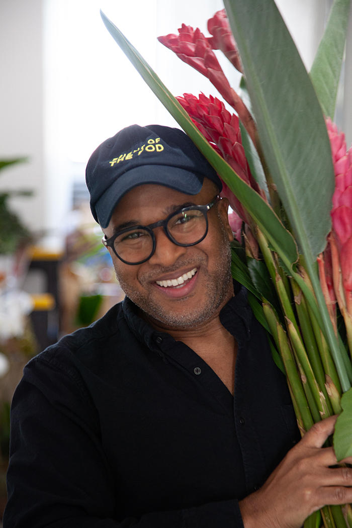 Why this former fashion exec is hand-delivering plants to designers
