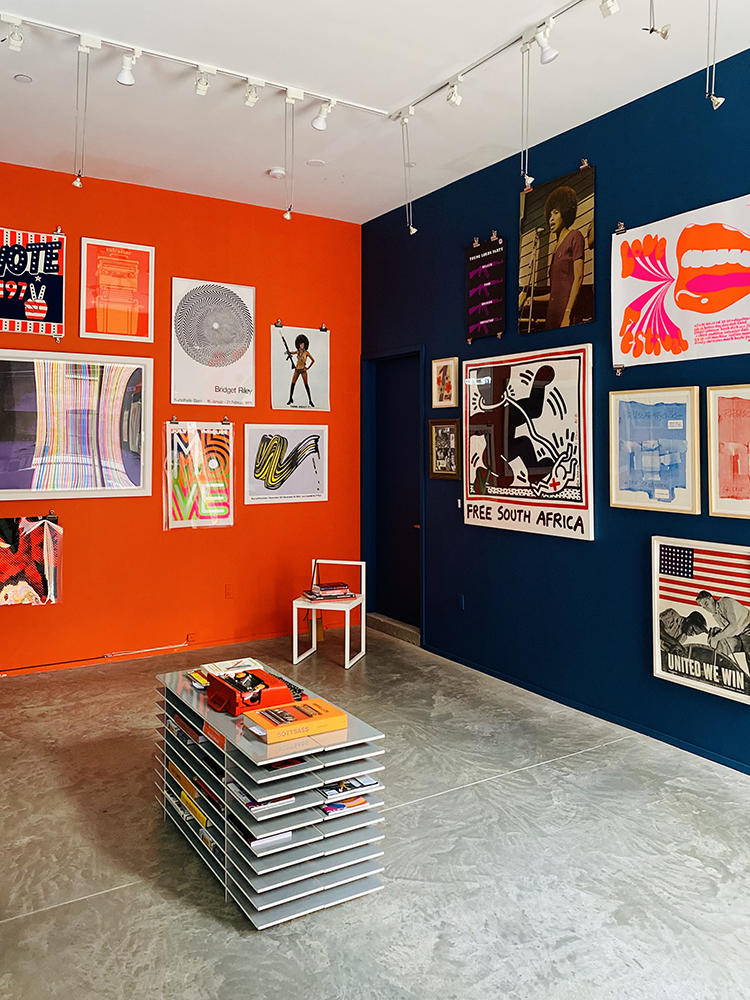 A Radical Window, a gallery exhibition, was the inaugural event at Contemporaries