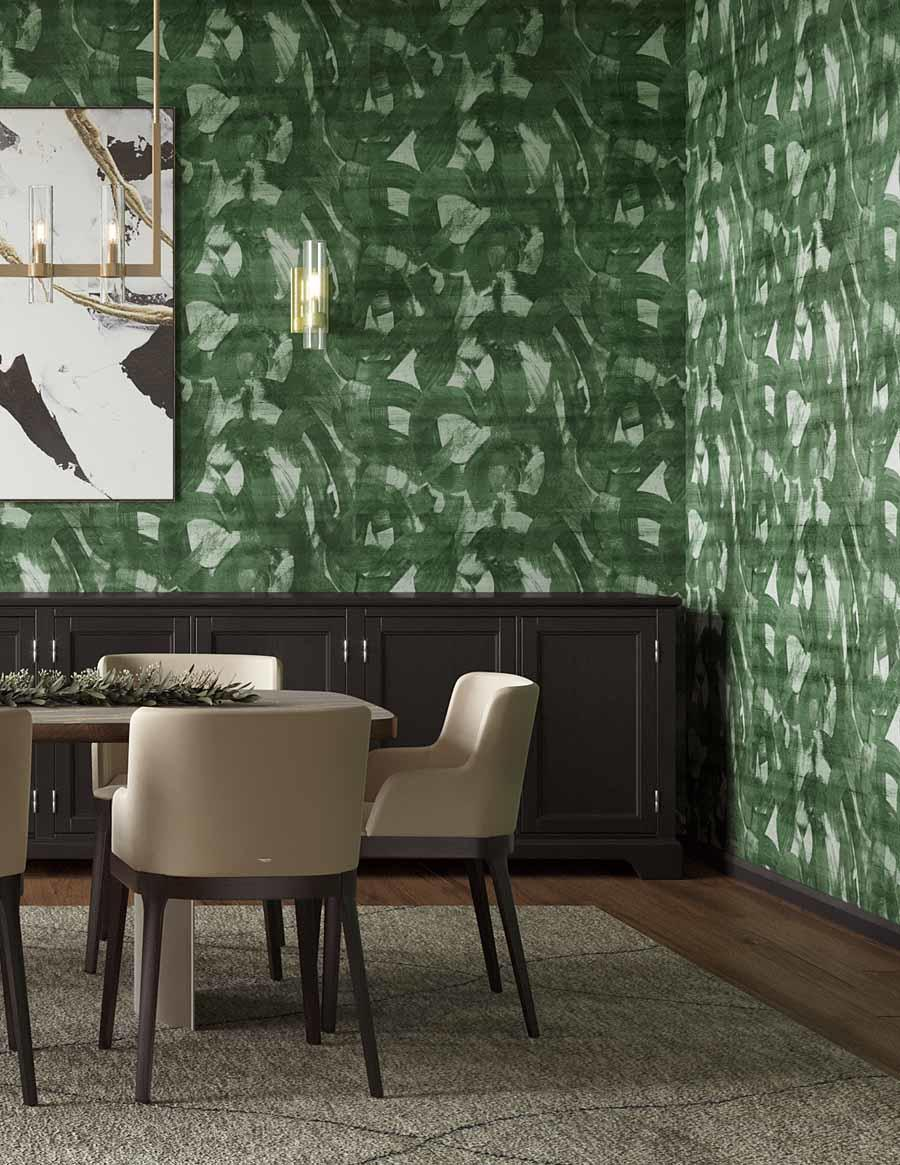 The Broad Strokes wallcovering from Phillip Jeffries