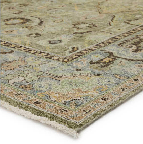 Jaipur Living's Someplace in Time rug in a minty green