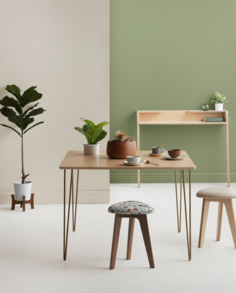 Inside Weather's Custom Dining Table