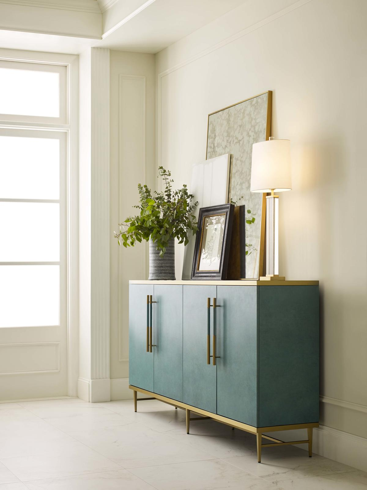 Celine Media console from Mitchell Gold + Bob Williams