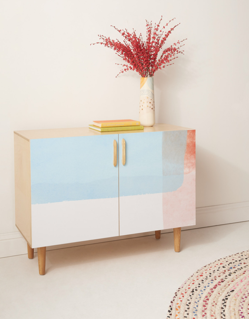 A custom credenza from Inside Weather