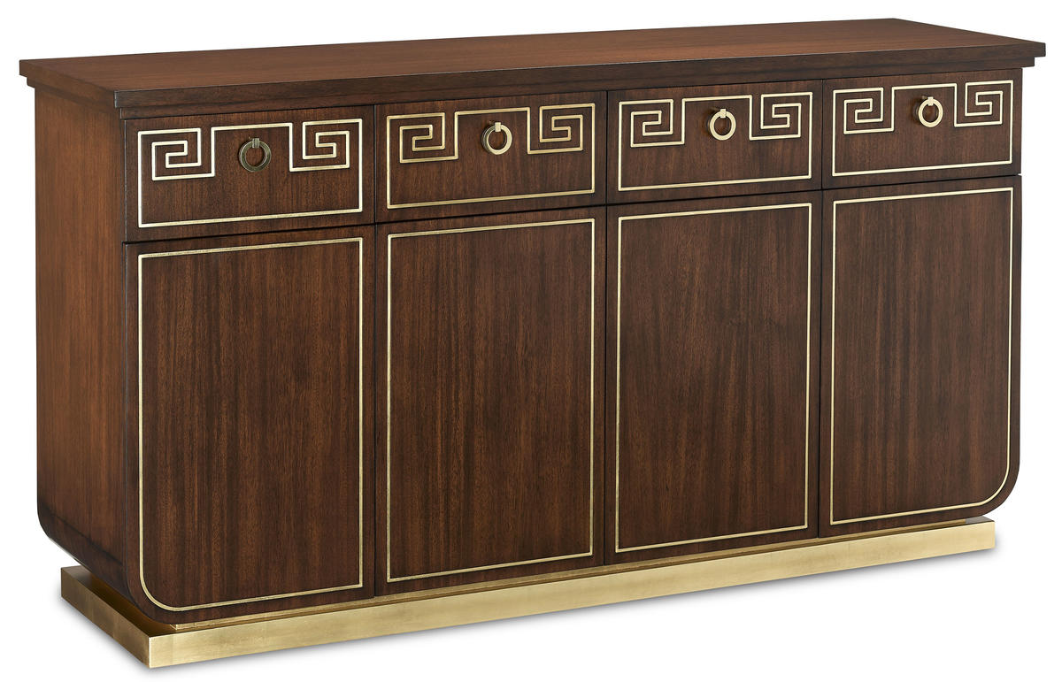The Zoe credenza from Currey & Company