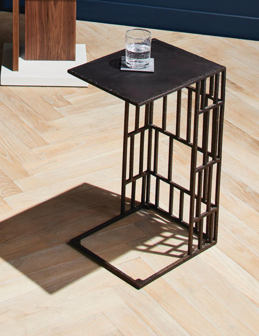 The Melville side table from Made Goods