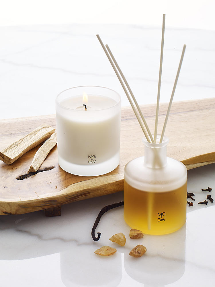 Home fragrance is another new category MGBW is rolling out this year.