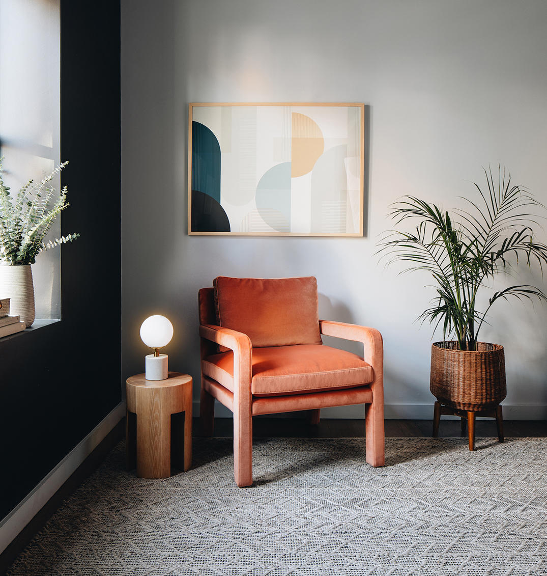 The Adler table lamp from Interior Define