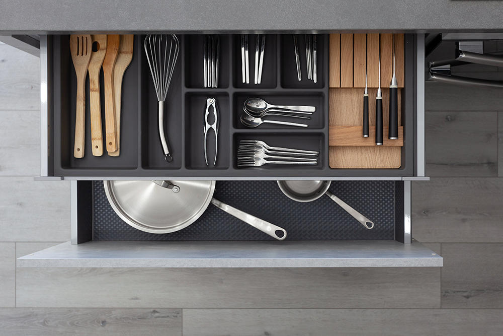 Form Kitchens offers over a thousand cabinet storage options