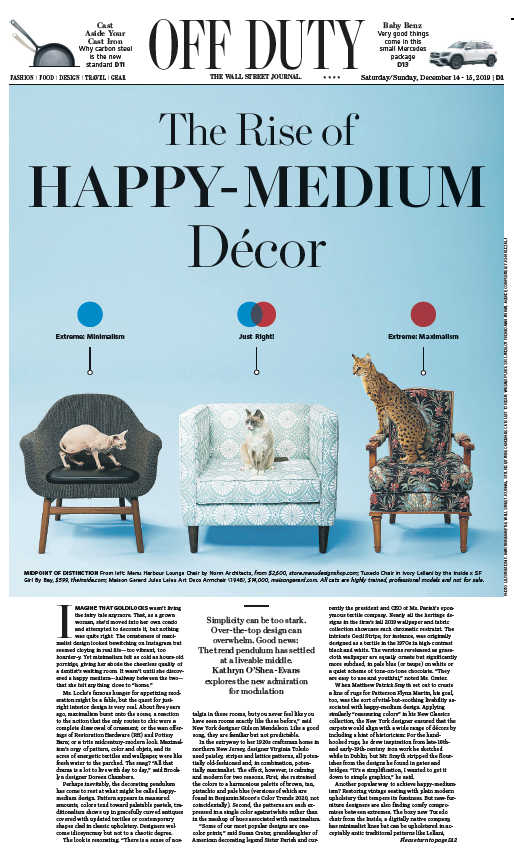 Why does The Wall Street Journal care about interior design?