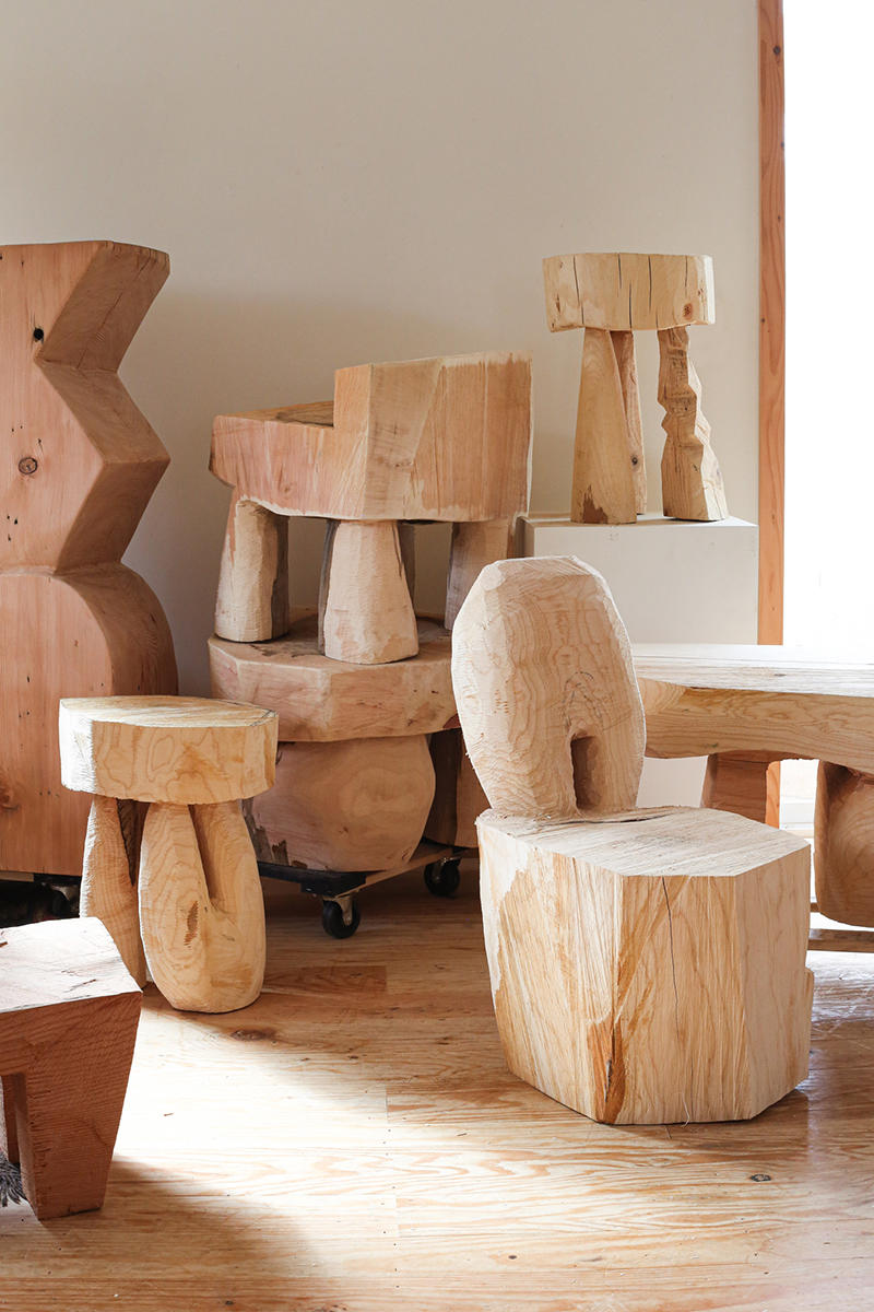 Block of ages: This Portland wood sculptor is putting a modern spin on ancient forms