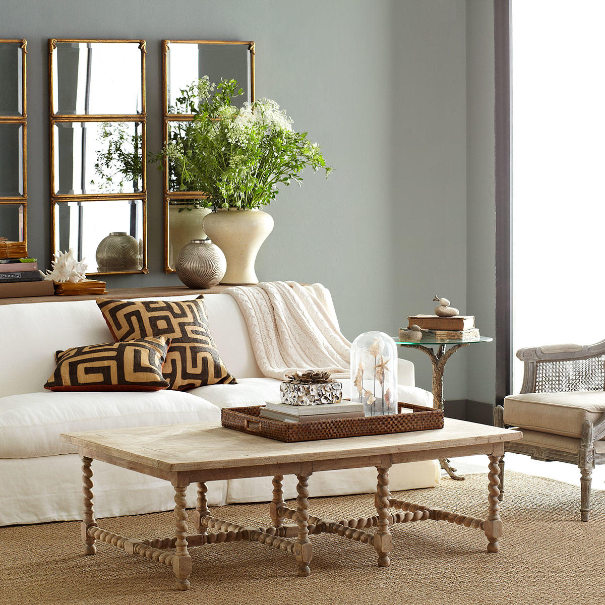The Barley Twist coffee table from Wisteria