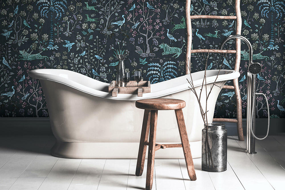 Mighty Jungle wallpaper from The Vale London