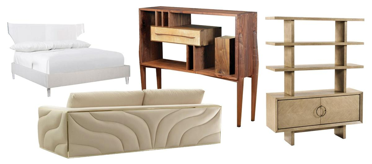 What's the answer to open concept living? Furniture that's fit to float
