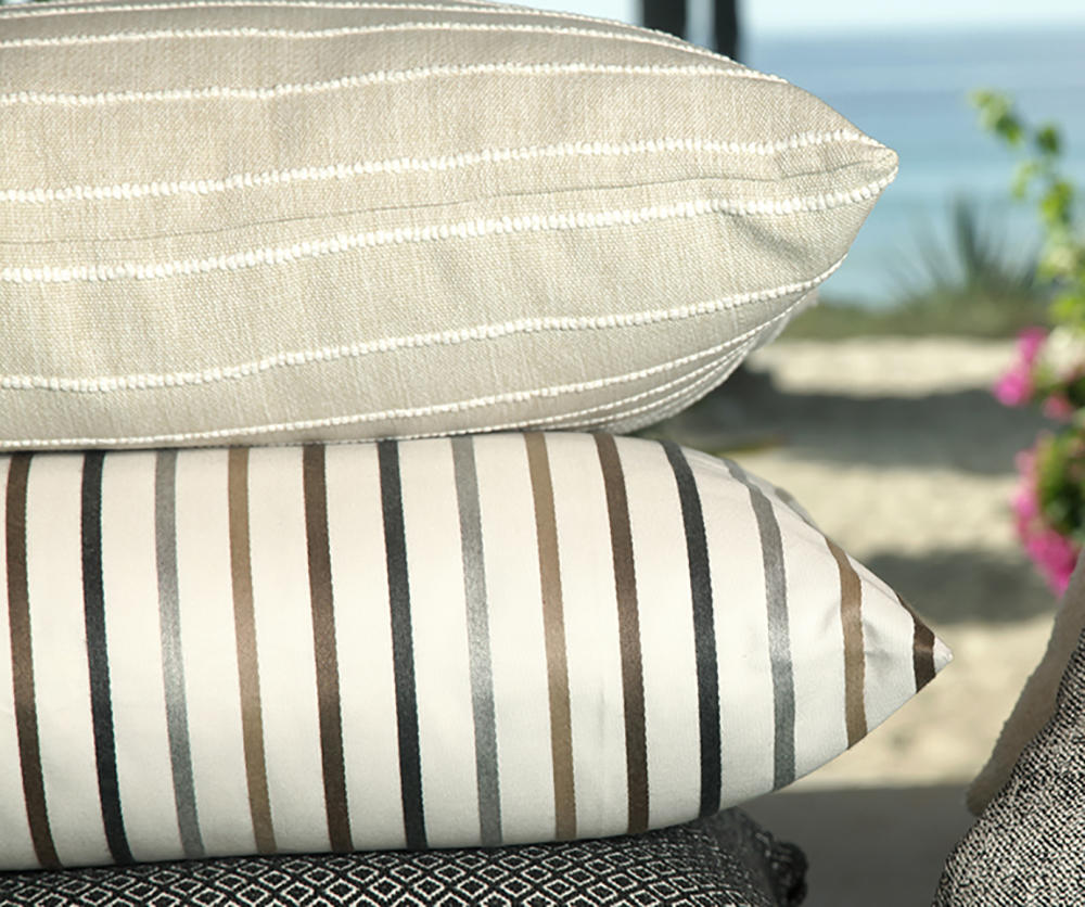 Off The Coast and Seaton Stripe from Kravet Couture