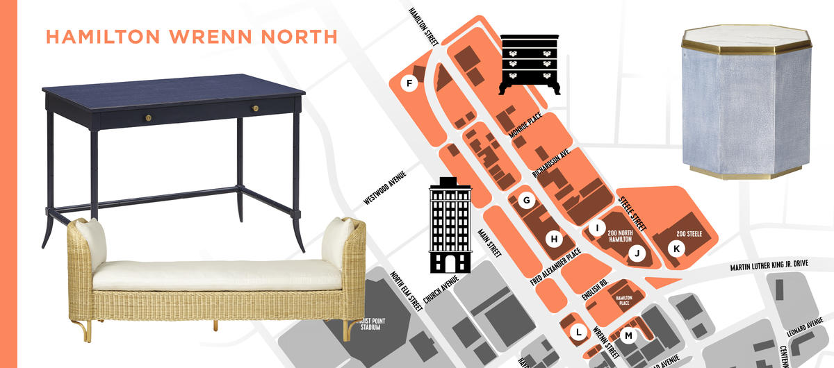 All over the map: A handy guide to getting around High Point Market