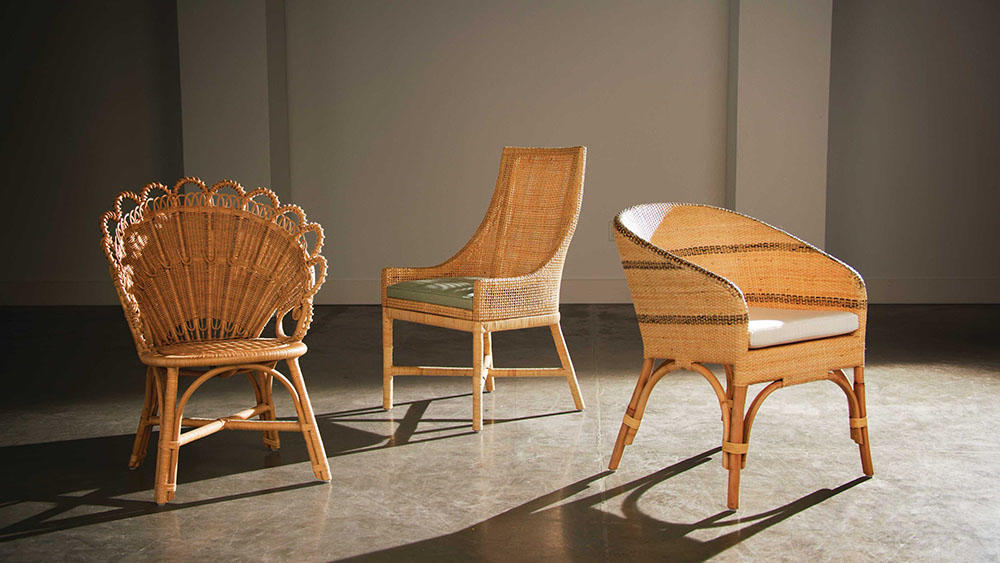 Gretel, Isla and Keanu dining chairs from Made Goods