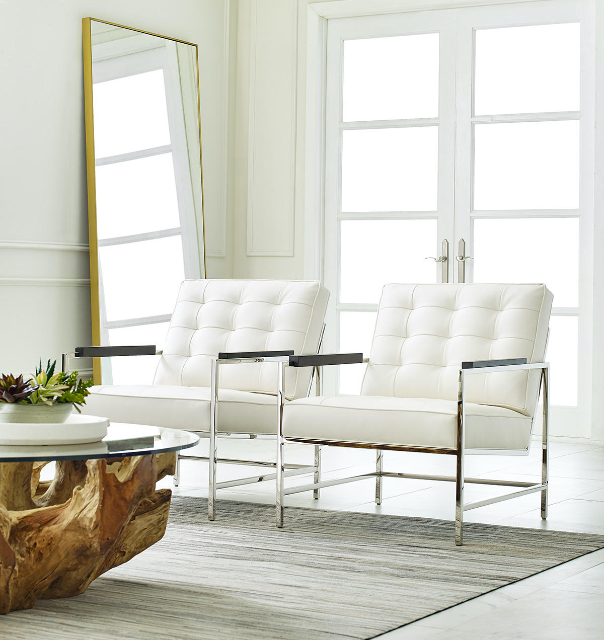 Tremont Cocktail Table from Mitchell Gold + Bob Williams
