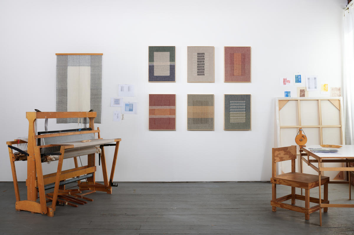 Why this Los Angeles textile artist is weaving the old-fashioned way