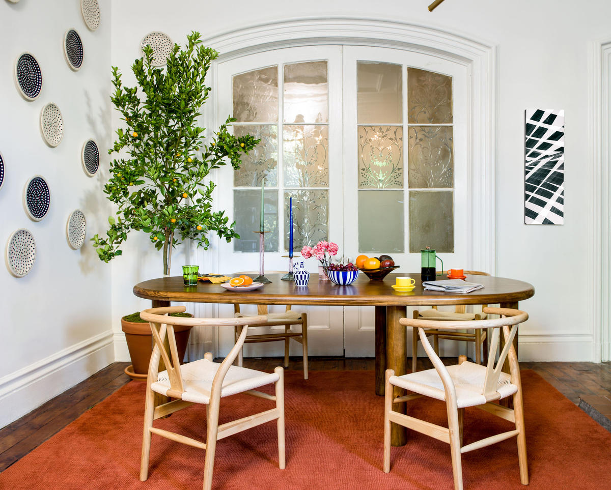 Dining room furniture from Conjure